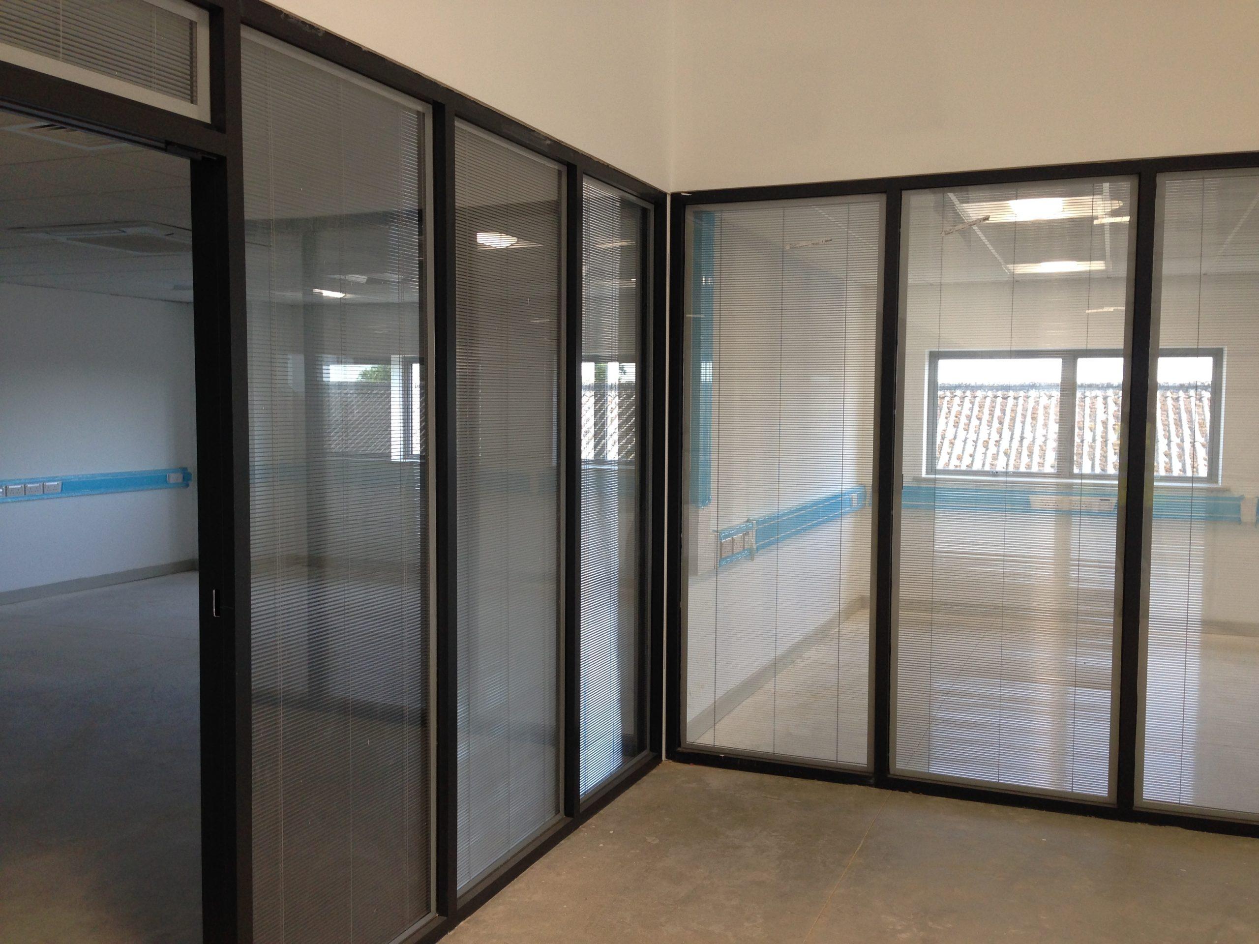 BetweenGlassBlinds Commercial Build
